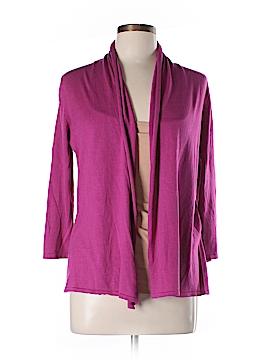 August Silk Silk Cardigan Size L