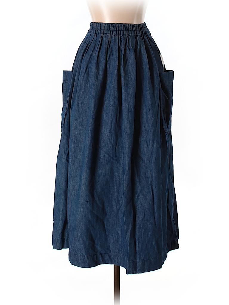 talbots denim skirt 78 only on thredup