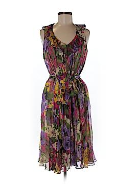 Suzi Chin for Maggy Boutique Silk Dress Size 6