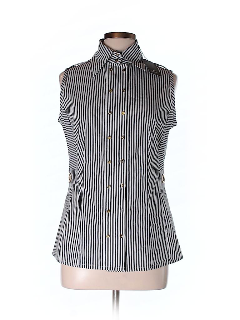 Courage b sleeveless button down shirt 70 off only on for Sleeveless cotton button down shirts