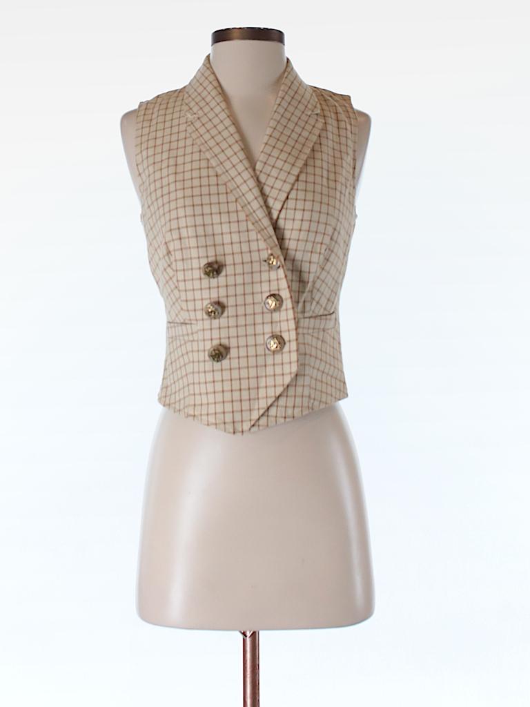 Lauren by Ralph Lauren Women Tuxedo Vest Size S