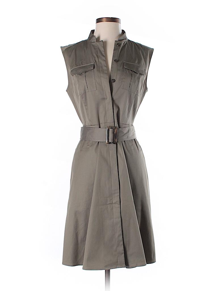 Ann Taylor Women Casual Dress Size 6 (Petite)