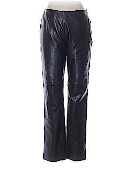 Moda International Leather Pants Size 10