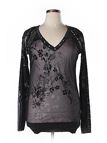LIBERTALIA Long Sleeve Blouse Size XL