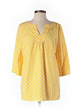 Sunhee Moon 3/4 Sleeve Blouse Size 2