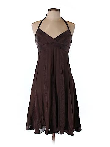 BCBGMAXAZRIA Women Silk Dress Size 10