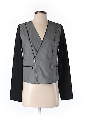 Kim Kardashian Faux Leather Jacket Size XS