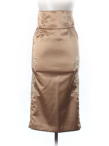 Dolce & Gabbana Silk Skirt 28 Waist