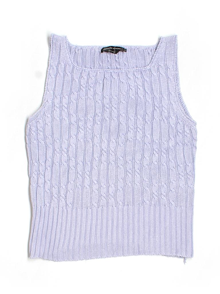 Adrienne Vittadini Women Silk Pullover Sweater Size L