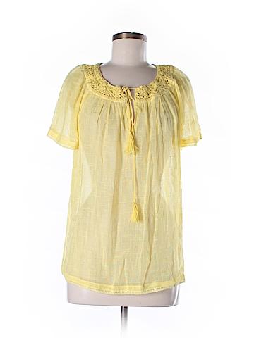 Joie Short Sleeve Blouse Size M