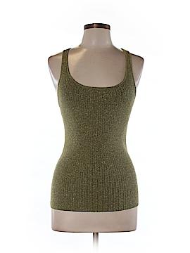 INC International Concepts Sleeveless Silk Top Size L