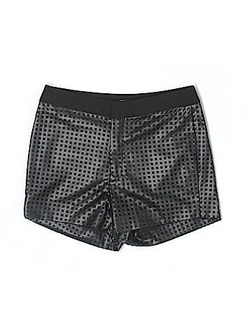 Etcetera  Faux Leather Shorts Size 4