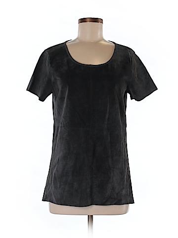 Ecru Short Sleeve Top Size M