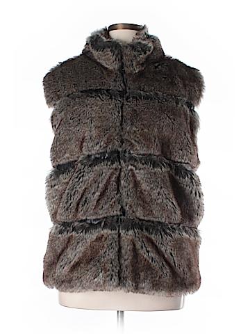 Dennis by Dennis Basso Faux Fur Vest Size 2X (Plus)