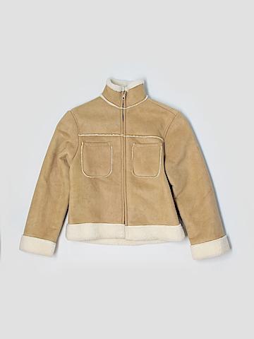 Gap Faux Leather Jacket Size 10