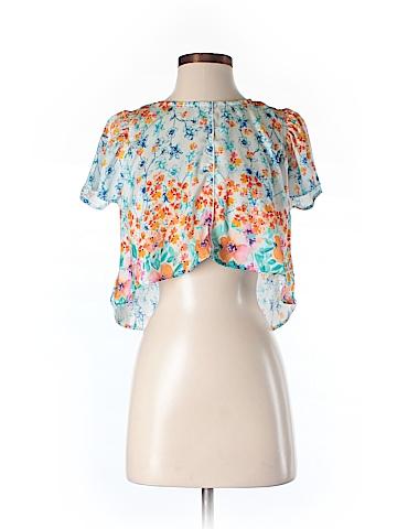 DRA Short Sleeve Blouse Size M