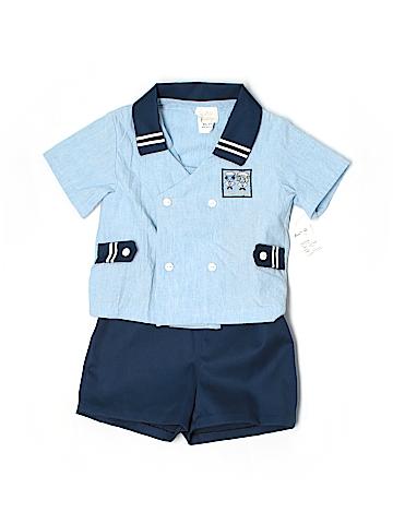 Little Bitty Short Sleeve Button-Down Shirt Size 4T