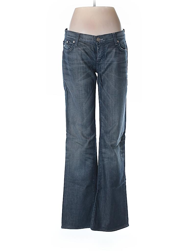 rock republic solid dark blue jeans 28 waist 95 off thredup. Black Bedroom Furniture Sets. Home Design Ideas