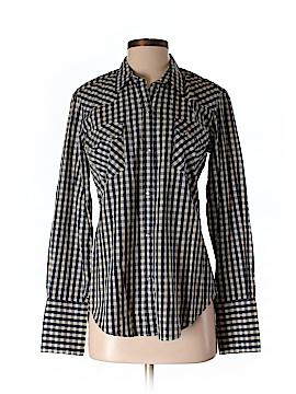Nili Lotan Long Sleeve Button-Down Shirt Size S