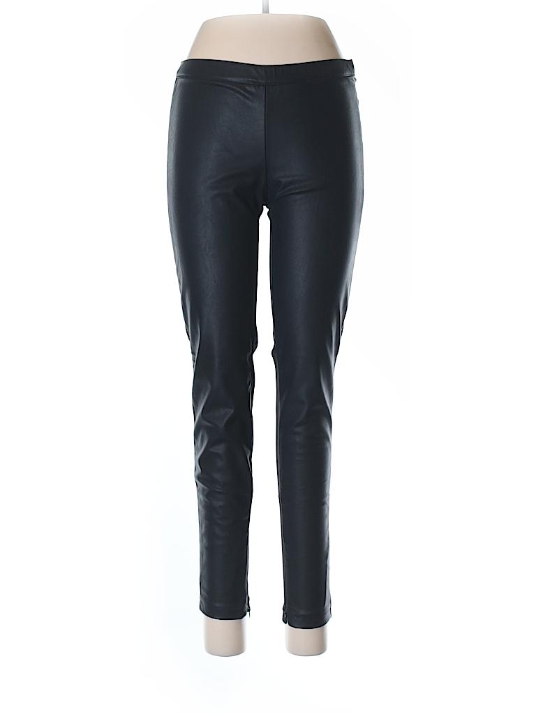 Trafaluc by Zara Women Faux Leather Pants Size L