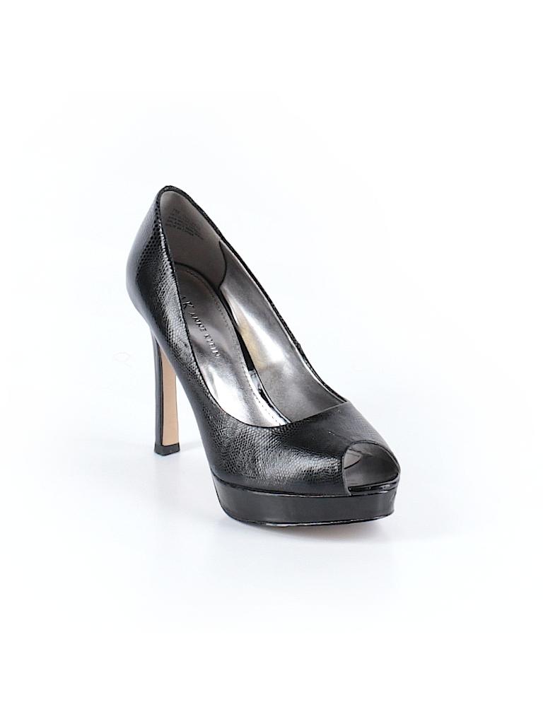 7e4ed8ba91f4 Anne Klein Solid Black Heels Size 7 - 84% off