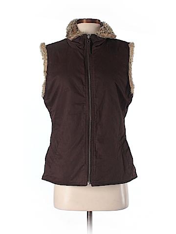 Gap Outlet Faux Fur Vest Size M