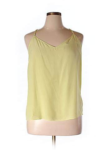 Lilly Pulitzer Sleeveless Silk Top Size XL