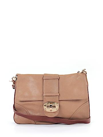 Sondra Roberts  Leather Crossbody Bag One Size