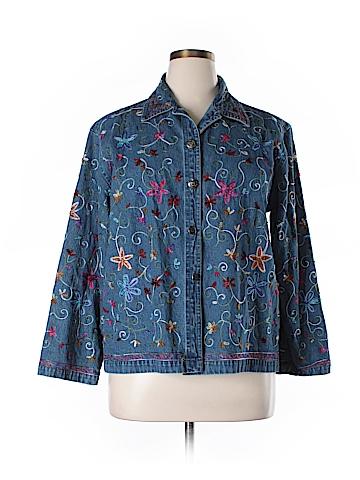Life Style Denim Jacket Size XL