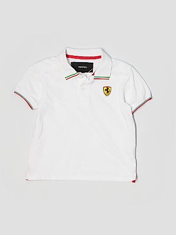 Ferrari Short Sleeve Polo Size 5/6