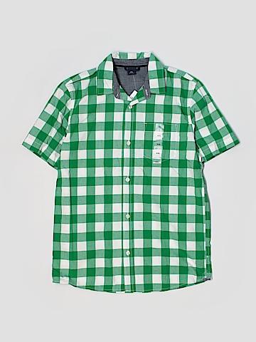 Gap Kids Short Sleeve Button-Down Shirt Size 14-16