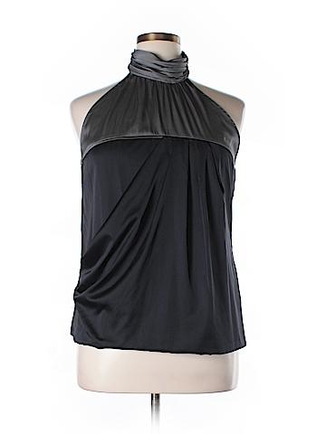 New York & Company Sleeveless Button-Down Shirt Size XL