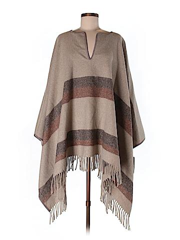 Zara Basic Poncho Size M