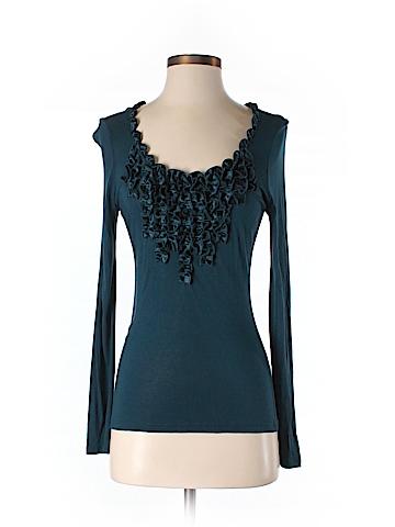 T Tahari Long Sleeve Top Size S