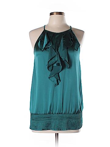 Arden B. Sleeveless Silk Top Size L