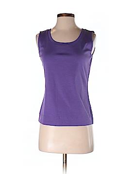 Lafayette 148 New York Sleeveless T-Shirt Size S