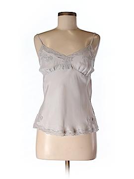 Gold Hawk Sleeveless Silk Top Size XS