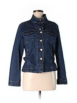 Bill Blass Denim Jacket Size L (Petite)