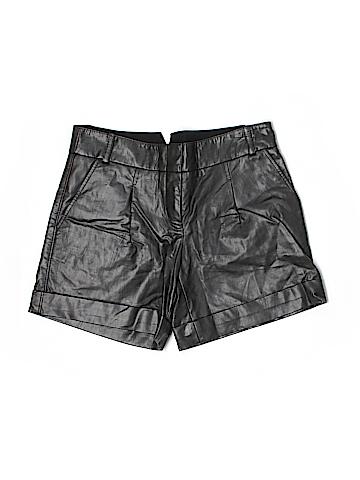 BCBGMAXAZRIA Faux Leather Shorts Size 2