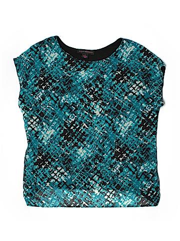 Hayley Matthews Short Sleeve Blouse Size XL