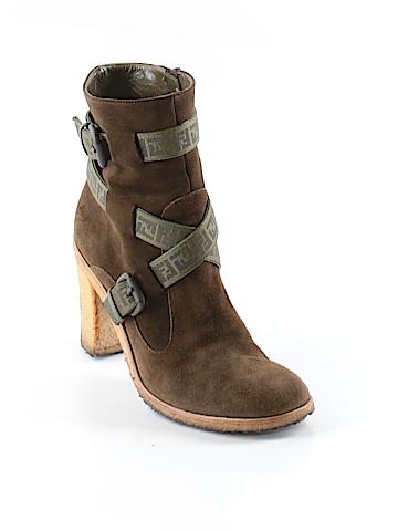 Fendi Ankle Boots Size 38.5 (EU)