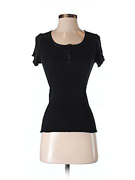 Gerard Darel Short Sleeve Silk Top Size Sm (2)