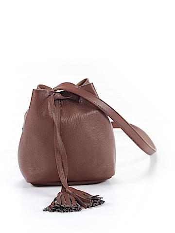 Shaffer Leather Bucket Bag One Size