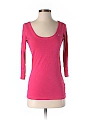 Hollister 3/4 Sleeve T-Shirt Size S