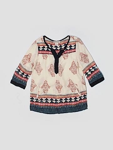 Lucky Brand 3/4 Sleeve Blouse Size S (Kids)