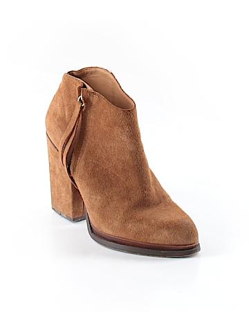 Zara Basic Ankle Boots Size 37 (EU)
