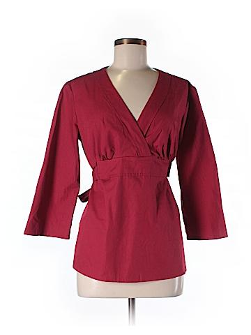 Sunhee Moon 3/4 Sleeve Blouse Size 3