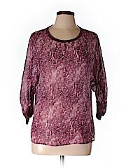 Adriano Goldschmied 3/4 Sleeve Silk Top