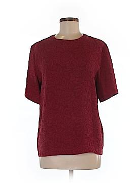 Jos. A. Bank Short Sleeve Silk Top Size 8