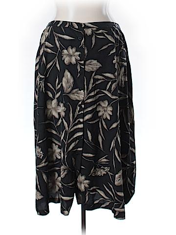 Jones New York Silk Skirt Size 20 (Plus)
